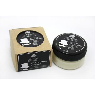 Твердое масло для бороды и усов с экстрактом шишек хмеля, 50 мл (Take Care Studio)