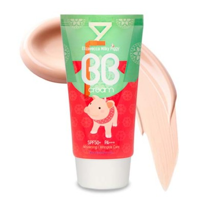 Увлажняющий BB Cream Milky Piggy SPF50+ PA+++, 50 мл (ELIZAVECCA)