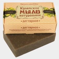 Натуральное Крымское мыло Дегтярное (Мануфактура Дом Природы)