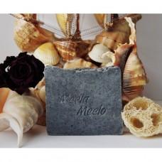 """Органическое мыло """"Чисточерное""""  с древесным углем, 100 г (Meela Meelo)"""