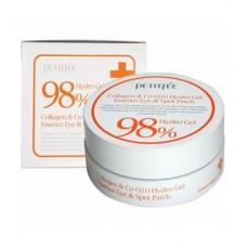Набор гидрогелевых патчей Petitfee Collagen & Q10 Hydrogel Eye Patch для глаз, 60 шт.