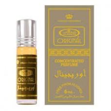 Арабские натуральные масляные духи ORIGINAL, 6 мл (мужские)