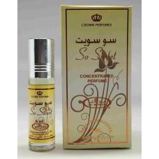 Арабские натуральные масляные духи So Sweet, 3 мл