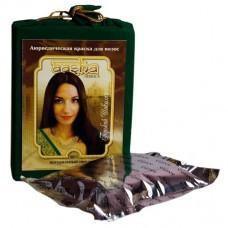 """Аюрведическая краска для волос """"Горький шоколад"""", 100г (Aasha)"""