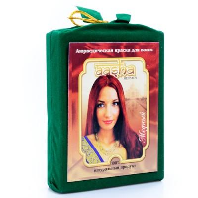 """Аюрведическая краска для волос """"Медный"""", 100г (Aasha)"""