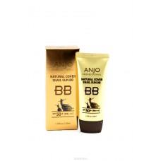 ББ-крем с высоким содержанием муцина улитки SPF 50, PA +++, 50 мл Anjo