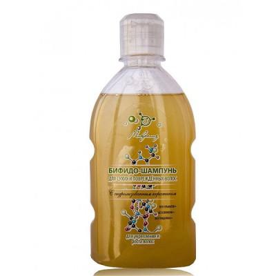Бифидо-шампунь для сухих и поврежденных волос с кератином Микролиз, 250 мл