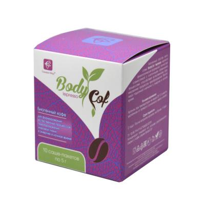 Биогенный кофе Body Cof lepresso 10 саше-пакетов (Сашера-Мед)