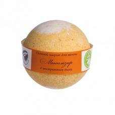 Бурлящий шарик для ванны Монплезир (дыня)