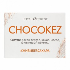 Шоколад на финиковом пекмезе Chocokez Royal Forest, 30 г