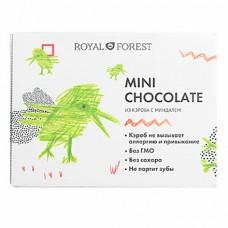 Шоколад Royal Forest Mini Chocolate из кэроба с миндалем, 30 гр.