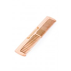 Расческа деревянная без ручки Гребешок (Siberina)