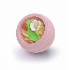 Бурлящий шар для ванны Клубничный Десерт (Берегиня)