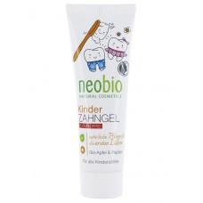 Гелевая зубная паста для детей без фтора NeoBio Яблоко и Папайя, 50 мл