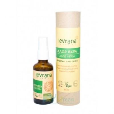 Натуральный дезодорант Алоэ Вера, 50 мл (Levrana)