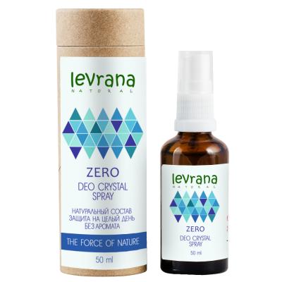 Натуральный дезодорант ZERO без запаха, 50 мл (Леврана)