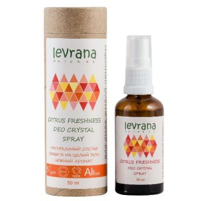 Натуральный дезодорант Цитрусовая свежесть, 50 мл (Levrana), 50 мл