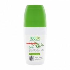 Дезодорант шариковый 24 часа с био-оливой и бамбуком, 50 мл (NeoBio)