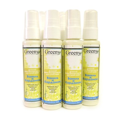 Дневной крем-биопротектор для сухой кожи «Ваниль и Кардамон», 50 мл (Vi-Cosmetics)