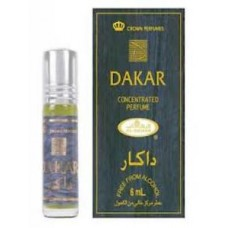 Арабские натуральные масляные духи DAKAR, 3 мл (мужские)
