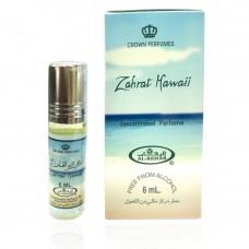 Арабские натуральные масляные духи Zahrat Hawaii, 6 мл