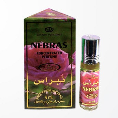 Арабские натуральные масляные духи Nebras, 6 мл
