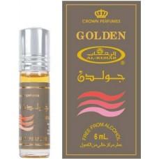 Арабские натуральные масляные духи Golden, 6 мл (мужские)