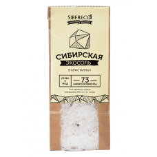 Экосоль Сибирская в кристаллах крафт-пакет, 500г