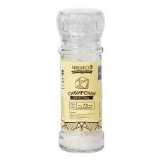 Экосоль сибирская кристаллы с мельницей, 100 г