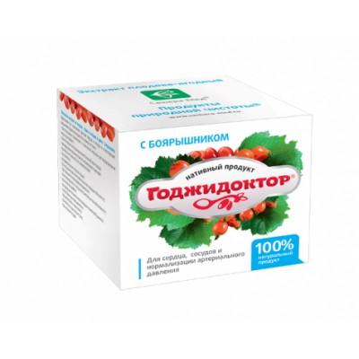 Экстракт плодово-ягодный Годжидоктор с боярышником, 100 мл (Сашера-Мед)