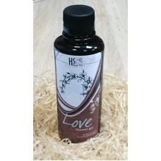 Гель для душа «Love» с глицерином и эфирным маслом женьшеня, 200 г