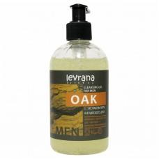 Гель для умывания мужской Oak с экстрактом коры Дуба, 300 мл (Levrana)