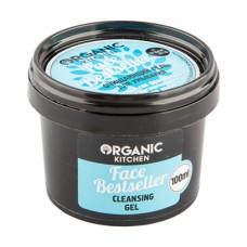 """Гель для умывания """"Face Bestseller"""" очищающий Organic Kitchen, 100 мл"""