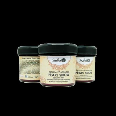 "Жемчужный крем-гоммаж ""Pearl Snow"", 160 г"