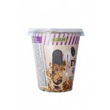 Овсяная гранола с черносливом и финиками в стакане (с ложкой), 60 г