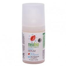 Интенсивная сыворотка для лица с био-шиповником и гиалуроновой кислотой NeoBio, 30 мл
