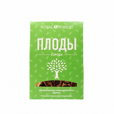 Плоды рожкового дерева (кэроб) Royal Forest, 100 гр