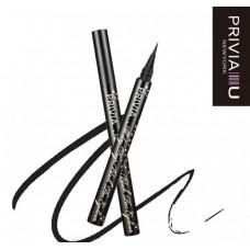 Стойкий карандаш-подводка PRIVIA, цвет Черный