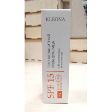 Солнцезащитный крем для лица SPF15 Kleona, 30 мл