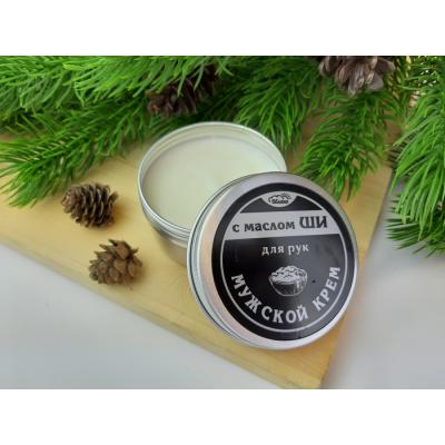 Крем для рук Мужской с маслом ШИ, 85 г Oblaka Beauty