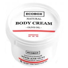 """Крем для тела """"Оливковое масло"""", 100 мл (Ecobox)"""
