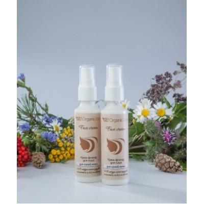 Крем –флюид для сухой и чувствительной кожи, 50 мл (Organic Zone)
