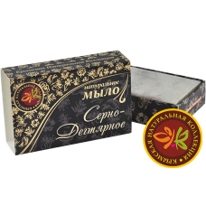 """Натуральное Крымское мыло """"Серно-Дегтярное"""""""