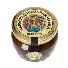 Натуральный мармелад с иван-чаем на меду 95мл (Sibereco)