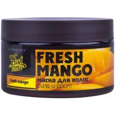 Маска для волос Fresh mango - Сила и рост, 250 мл (L'Cosmetics)