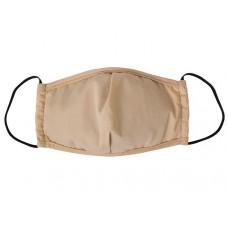 Маска защитная тканевая с фильтром Бежевая (женская)