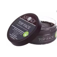 Маска для лица Top Face с черной глиной и альгинатом, 150 г