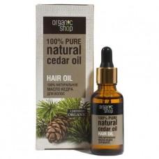 Натуральное масло кедра для волос, 30 мл