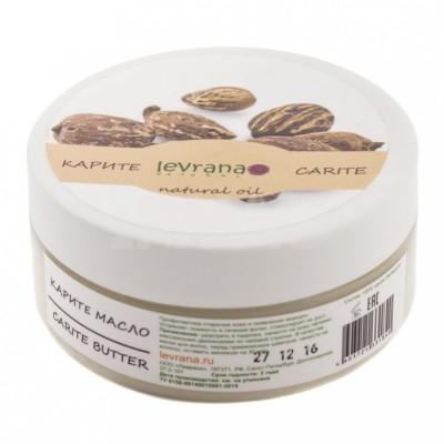 Натуральное масло ШИ (карите) для волос и тела, 150 мл (Levrana)
