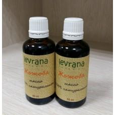 Натуральное масло жожоба голден Levrana, 50 мл